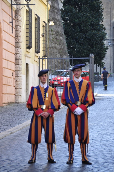 The Swiss Guard at the Vatican (at least according to a Tom Clancy novel I read once)