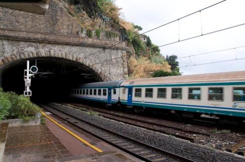 Train Arriving from La Spezia