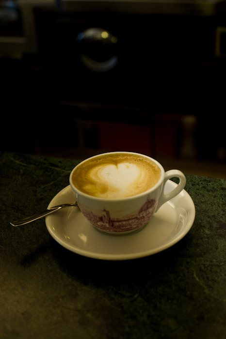 Florence, Italy - Latte in Espresso bar