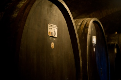 Florence, Italy - Aging Barrels of Chianti Classico
