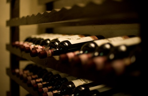 Florence, Italy - Bottles of Chianti Classico